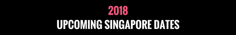 Upcoming Style Coach Programmes Singapore